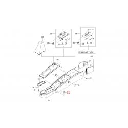 Гнездо доп. прикуривателя в центральной консоли Авео T250 T255 Эванда GM