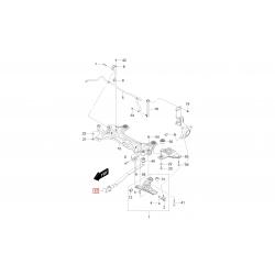 Усилитель буксировочного крюка Авео T250 T255 АКПП GM