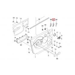 Тримач картки з кнопкою управління дзеркалами Авео T200 GM