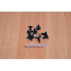 Пистон крепления обшивки багажника ЗАЗ (к-т, 10 шт.)
