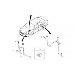 Провод датчика ABS передний Эпика Эванда GM