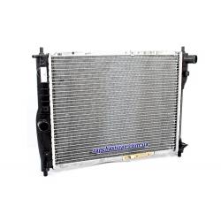 Радиатор охлаждения без кондиционера паяный Лузар