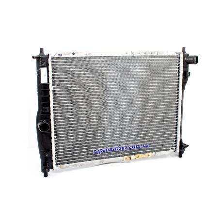 Радиатор охлаждения без кондиционера паянный Ланос Сенс LRc 0563b Фото 1 LRc 0563b