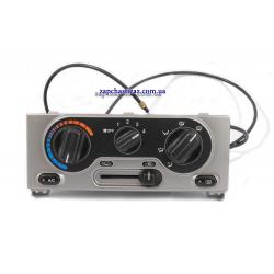 Блок управления отопителем и кондиционером (металлик светлый) GM