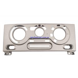 Накладка блока управления отопителем и кондиционером (металлик темный) GM