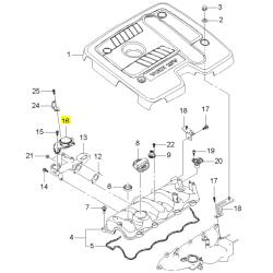 Клапан система вентиляції картера Каптива Круз Лачетті Епіка дизель GM