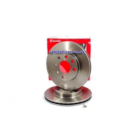 Диск тормозной передний Ланос Сенс Brembo 09.3090.14 Фото 1 09.3090.14
