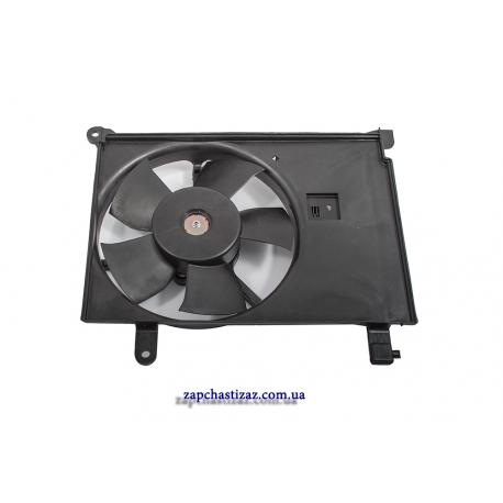 Вентилятор радиатора охлаждения дополнительный Лузар для Ланоса (Lanos) с кондиционером LFc 0563