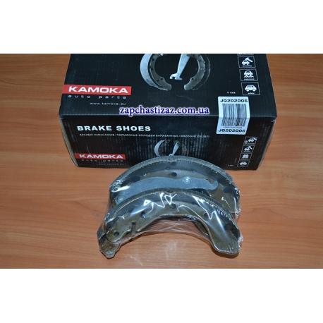 Колодки тормозные задние R13-R14 Kamoka Ланос Сенс JQ202006 Фото 1 JQ202006
