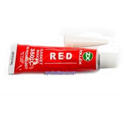 Герметик прокладка красный Zollex 25 гр
