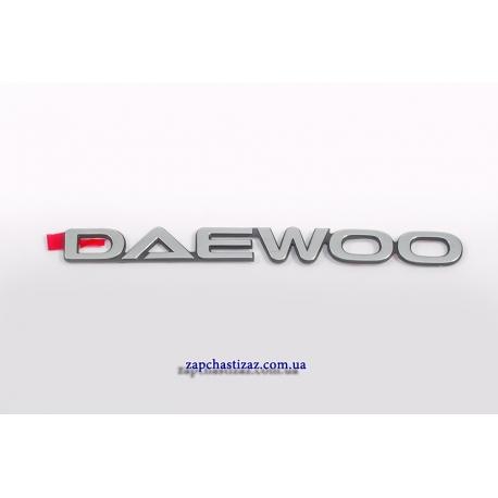 Надпись (эмблема) Daewoo 96303494 Фото 1 96303494