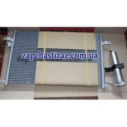 Радиатор кондиционера с осушителем на Шевроле Лачетти Chevrolet Lacetti 96484931