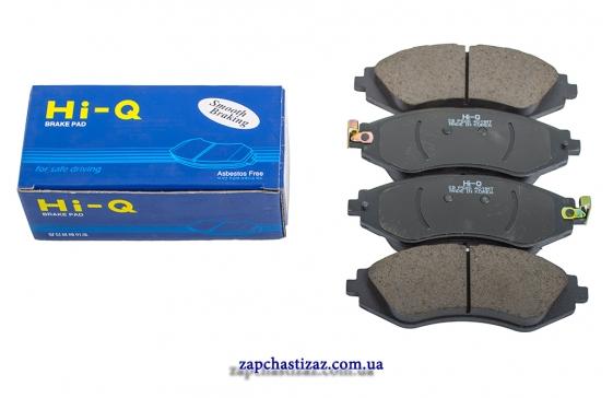 Колодки тормозные передние HI-Q Лачетти