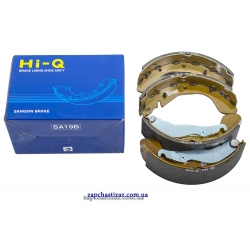 Колодки тормозные задние HI-Q Ланос Сенс Lanos Sens SA055-NEW Фото 1