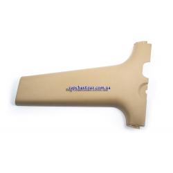 Накладка средней стойки боковины нижняя (бежевая) Авео левая