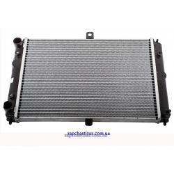 Радиатор охлаждения Сенс 1.3 Ланос 1.4 без кондиционера паянный LRc 01083b