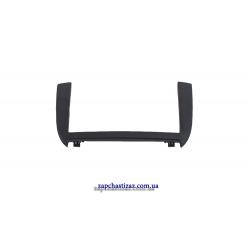Рамка облицовки магнитолы (черная) Ланос Сенс GM