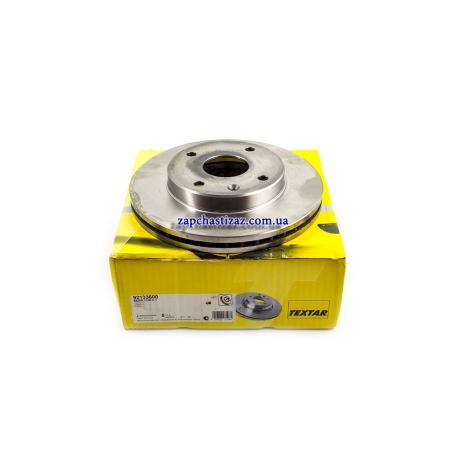 Диск тормозной передний Textar на Шевроле Лачетти TX 92133600 Фото 1 TX 92133600