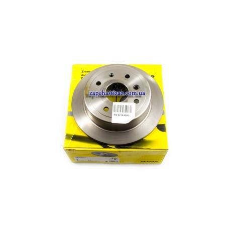 Диск тормозной задний Textar на Шевроле Лачетти (Chevrolet Lacetti) TX 92163000 Фото 1 TX 92163000