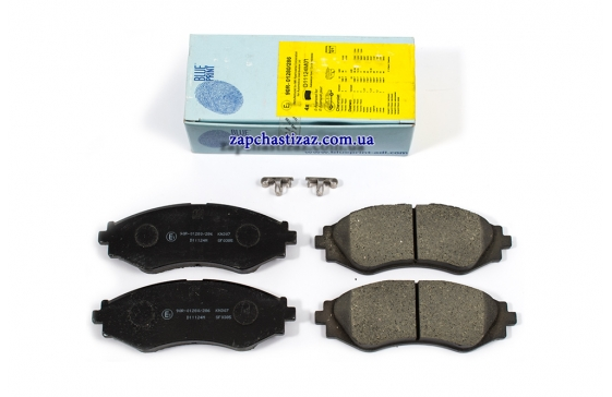 Колодки тормозные передние Blue Print на Шевроле Лачетти (Chevrolet Lacetti) ADG04207