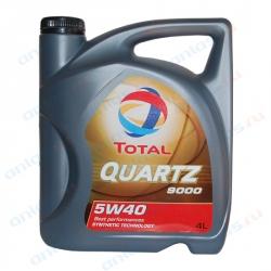 Масло TOTAL QUARTZ 9000 5W-40 синтетика 4л