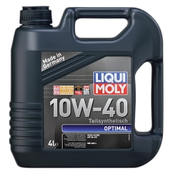 Масло Liqui Moly SAE 10W-40 OPTIMAL 4л