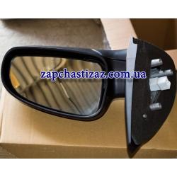 Зеркало наружное правое механическое с подогревом на Шевроле Авео Chevrolet Aveo T-200 T-255