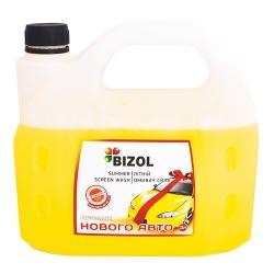Омивач скла річний аромат нового авто 3л BIZOL