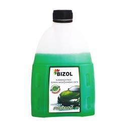 Омивач скла річний (концентрат) аромат лайма 1л BIZOL