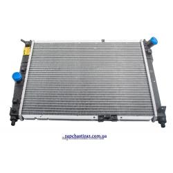 Радиатор охлаждения без кондиционера Ланос HOLA. RC369 Фото 1