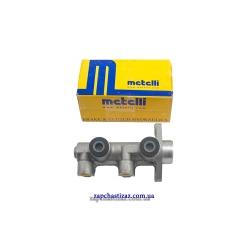 Цилиндр главный тормозной без усилителя, АБС и бачка (ф 20) Metelli