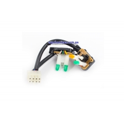 Кнопка переключателя блока управления печки с кондиционером Ланос GM.