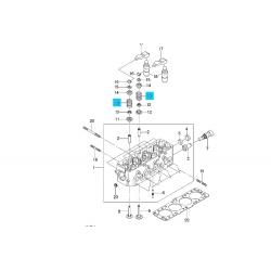 Пружина клапана впускного и выпускного 1,5 Ланос Авео OE