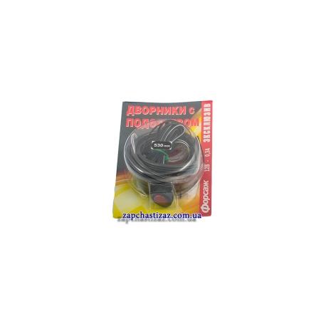 Резинка для щётки дворника с подогревом Таврия Славута 495-5205900-0256 Фото 1 495-5205900-0256