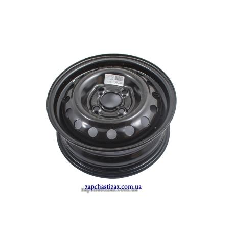 Диск колёсный R13 ЗАЗ чёрный Ланос Сенс t1301-3101015-02 Фото 1 t1301-3101015-02