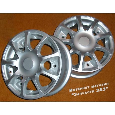 литые легкосплавные диски на автомобили таврия ЗАЗ 1102 славута ЗАЗ 1103, Tt68