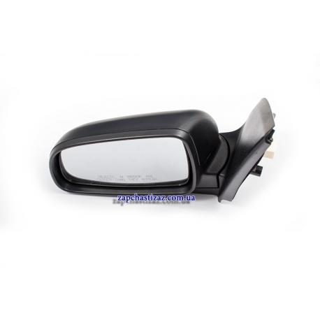 Зеркало наружное левое электро с подогревом (черн) Авео Т-250 GM. Фото 1 96648492