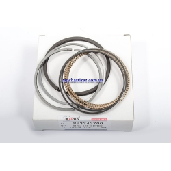 Кольца поршневые Лачетти 1.8 (LDA) стандарт Kobis. 93742700 Фото 1