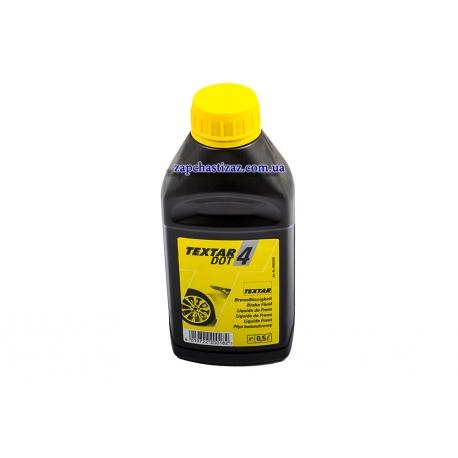 Тормозная жидкость DOT-4 TEXTAR 0.5л. TX 95002400 Фото 1 TX 95002400