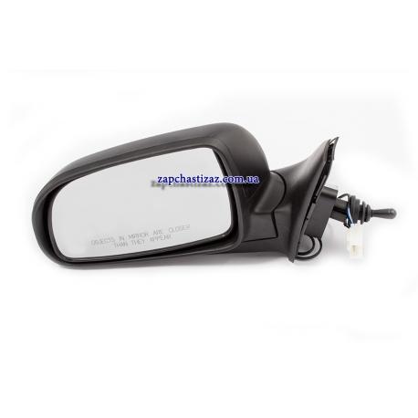 Зеркало наружное левое с подогревом и повторителем поворота Сенс Ланос ЗАЗ Вида 96238943
