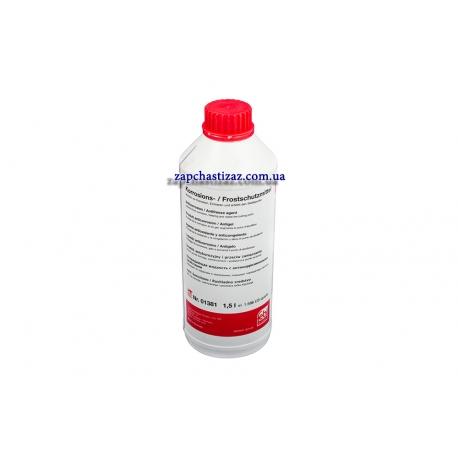 Антифриз G12 (концентрат) красный Febi 1.5 л FE01381 Фото 1 01381