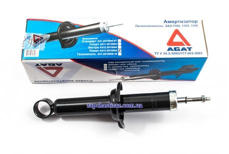 Амортизатор АГАТ задний Пикап усиленный (чёрный) А513.2915006-01 Фото 1 А513.2915006-01