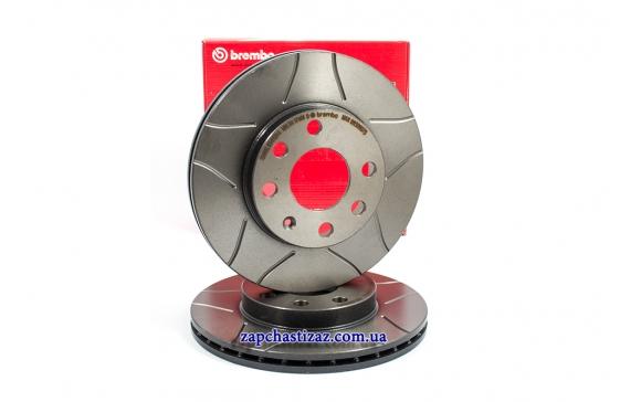 Диск тормозной передний Brembo MAX R13 Ланос Сенс 09.3090.75 Фото 1