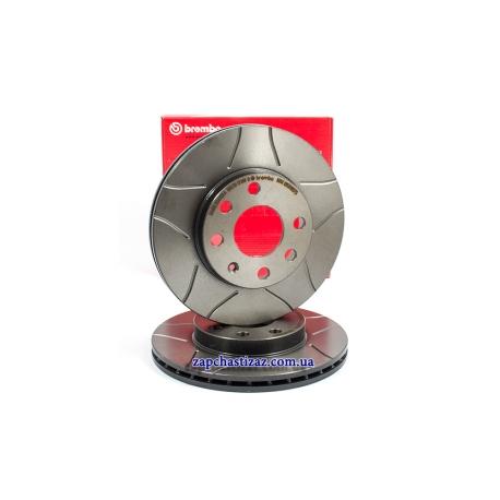Диск тормозной передний Brembo MAX R13 Ланос Сенс 09.3090.75 Фото 1 09.3090.75