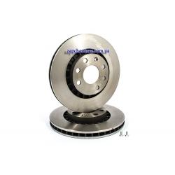 Диск тормозной передний Brembo R14 Ланос 09.5148.24 Фото 1