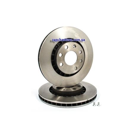 Диск тормозной передний Brembo R14 Ланос 09.5148.24 Фото 1 09.5148.24