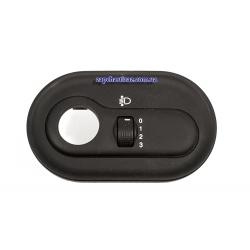 Корректор фар (кнопка) на панели приборов Ланос GM