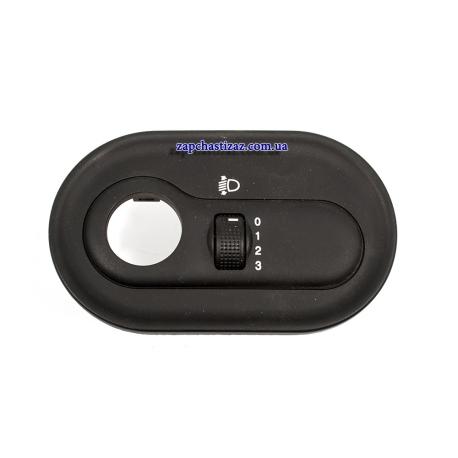 Корректор фар (кнопка) на панели приборов Ланос GM 96230807