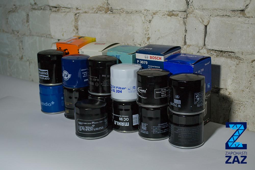 Масляные фильтра на Ланос обзорное фото